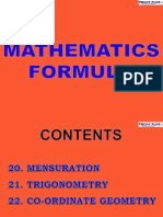 6 Maths Forumulae