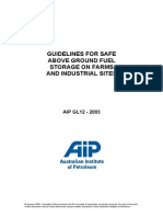 4 SAFETY Guidelines for Safe Above Ground Fuel Storage