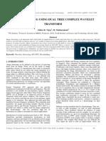 Image Denoising Using Dual Tree Complex Wavelet