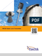 JFR FMCW Radar Level Transmitter