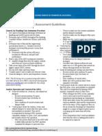 Commercial Building Assessment Guideline