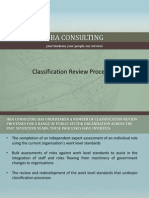 Classification Review Processes