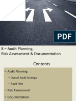 8 Audit Planning, RA Doc