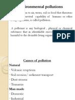Lec 16 Environmental Pollutions
