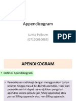 Appendicogram