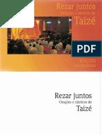 Livro Canticos de Taize