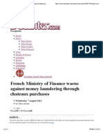 French Ministry of Finance warns against money laundering through chateaux purchases | decanter.com