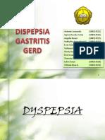 Dyspepsia Gastritis Gerd