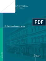 BOLLETTINO ECONOMICO N. 2, APRILE 2014