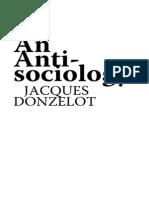 Donzelot Anti Sociology