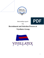 Recruitment & Selection of Viyallatex