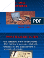 The Lie Behind the Lie Detector | Polygraph | Validity (Statistics)