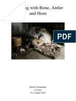 Working With Bone, Antler and Horn - David Constantine 1.4