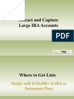 Attract and Capture Large IRA Accounts