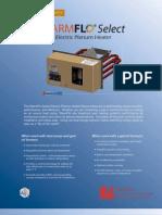 WarmFlo Plenum Electric Heaters Brochure