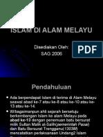 (Bab 7)Islam Di Alam Melayu