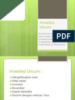 anestesinumum