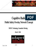 ADAPT4 Cognitive Radio Presentation