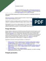 Pompe Clasificare Si Caracteristici Generale Tema Mf