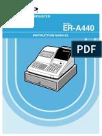 ER-A440 Instruction Manual