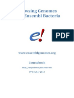 Browsing Genomes With Ensembl Bacteria