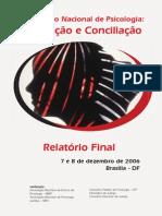 I Encontro Nacional de Psicologia - Mediação e Conciliação