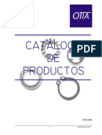 Catalogo Espinas, Chavetas, Seguros, Seger