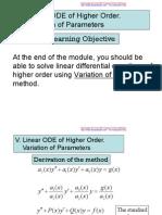 3-Higher Order de v-VI
