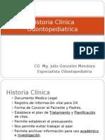 Historia Clínica odontopediatria