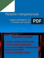 relatiile interpersonale