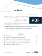 Notes - Partial Fractions