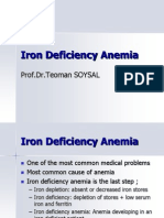 Discusi v Iron Deficiency Anemia