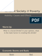lesson 3- affluent society vs  poverty