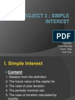 Project 3_Simple Interest