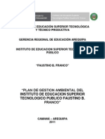 Plan de Gestion Ambiental 2011 Corregido