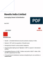 Havells India July 2013
