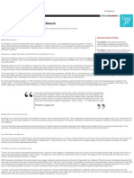 Dr Peter Calcott Pharma Biotech Supply Chain 10-22-09