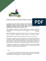 Agenda 21y rio +20