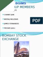 Bombay Stock Exchange Final Ppt