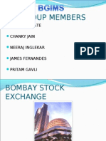 Bombay Stock Exchange Final Ppt