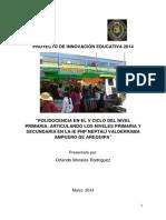 PROYECTO POLIDOCENCIA 2014
