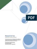 Manual de Uso - Planificación Mensual y Semanal