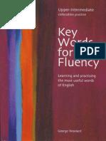3 Key Words for Fluency Upper-Intermediate