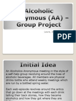 Portfolio - Group Project - Alcoholics Anonymous