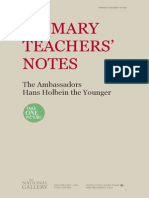 Notes Holbein Ambassadors