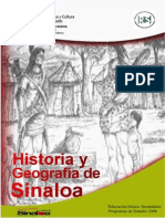 Historia y Geografia de Sinaloa