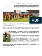 Bradford Disability Football Club England Press Release 2014