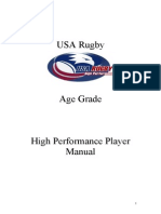 Rugby Union Player Manual