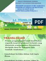 5.4 Translokasi Power Point