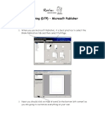 Computer Technology 07 Introduction to Microsoft Publisher Assignment 002
